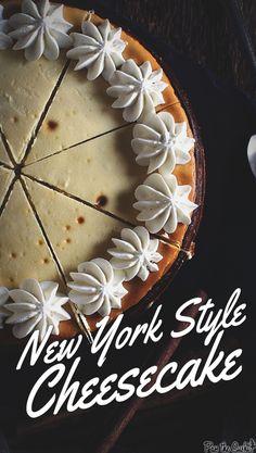 Classic New York Cheesecake Recipe | PasstheSushi.com