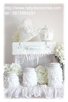 voici la gamme froufrou la pureté du blanc en vente sur http://www.natydecocorse.com