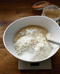 SURDEIGSBAKING. Lag ditt eget hevemiddel. Our Daily Bread, Oatmeal, Pudding, Ice Cream, Baking, Breakfast, Tips, The Oatmeal, No Churn Ice Cream