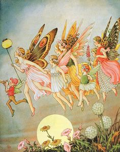 "Ida Rentoul Outhwaite, ""When the fairies came"""