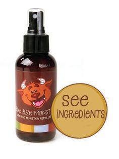 Organic monster repellent spray | The Organic Monster Repellent