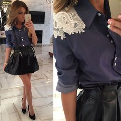 Cheap Blouses & Shirts, Buy Directly from China Suppliers:2015 Women Blouses Casual Lace Floral Shirts Casual Blouse Plus Size blue Summer StyleUS $ 3.98-5.98/piece2015 new Women