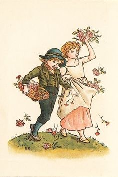 Kate Greenaway's Almanack for 1894