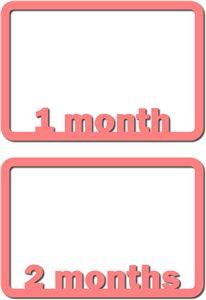 View Design #18664: 1-2 months frames