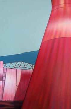 "Saatchi Art Artist Paola Adornato; Painting, ""Una domenica, a settembre"" #art #landascape"