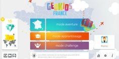 [Test] Geokids France, pour connaître la France sur le bout des doigts ! *** 5 étoiles *** *** Dès 9 ans *** http://app-enfant.fr/application/geokids-france-application-geographie/