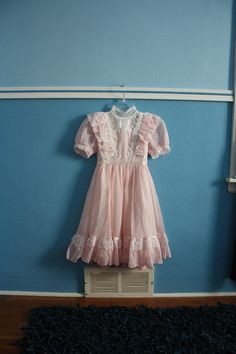 I had a dress similar to this when I was little.  It was my favorite dress ever :D