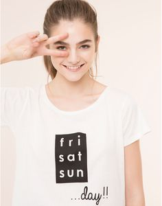T-SHIRT - NEW PRODUCTS - NEW PRODUCTS - PULL&BEAR Turkey
