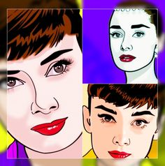 Portrait of Audrey Hepburn by Henstepbatbot on Stars Portraits, the biggest online gallery for celebrity portraits. Celebrity Portraits, Online Gallery, Audrey Hepburn, Digital Art, Stars, Fictional Characters, Sterne, Fantasy Characters, Star