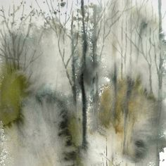 Abstract Watercolor Art, Watercolor Trees, Easy Watercolor, Watercolor Landscape, Abstract Landscape, Landscape Paintings, Watercolor Paintings, Watercolors, Chinese Drawings