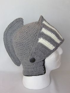 Crochet Viking/Trojan/Earflap Hat/ by MagicalStrings on Etsy, $32.00