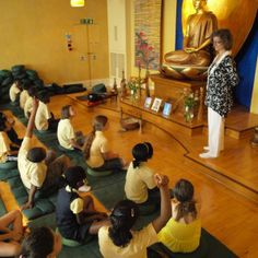 Srivati, who runs the London Buddhist Centre's education service, Bodhi Tree, is offering two training events: one for Buddhists conducting school visits; one for school teachers who want to teach mindfulness in their schools.
