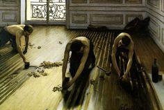 Les Raboteurs de Parquet. Gustave Caillebotte, 1875