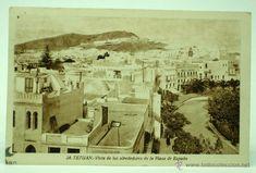 Tetuán, alrededores de la Plaza España, 1946, L. Roisin
