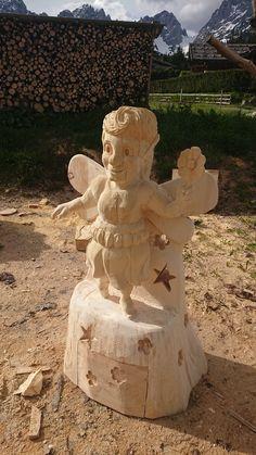 Törfchen Garden Sculpture, Outdoor Decor, Home Decor, Art, Atelier, Wood Art, Homemade Home Decor, Craft Art, Kunst