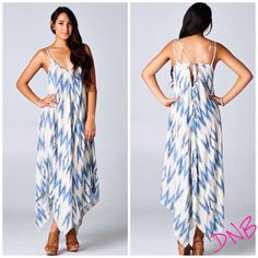 We are obsessed over the fit and style of our newest Bohemian Maxi Dress. The light blue color and detailed back make it a great dress for every fashionista. Dress it up with wedges or keep it casual with sandals.    Bohemian Maxi Dress $60