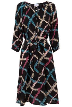 Birdsong Silk Dress - Women's Dresses | Brora