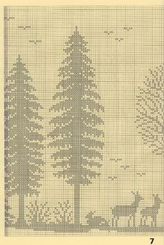 ergahandmade: Crochet Curtain and Cross-Stitch Pattern + Diagrams