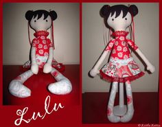 Handmade Doll $60
