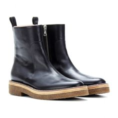 ce45e8a7f1 Leather Boots ♢ Dries Van Noten - it doesn t get any better than this