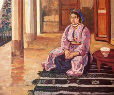Azouaou Mammeri, Marocaine assise