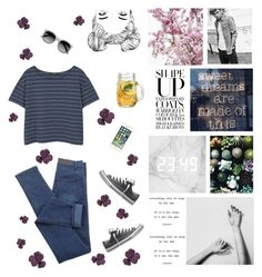 """Untitled #25"" by cilka-nedbalova on Polyvore featuring Handle, MANGO, Converse and Ace"