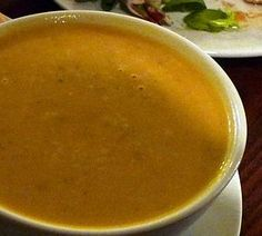 Butternut squash soup low histamine