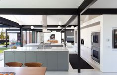 Modern Awesome Riggins House Slopping Volume House Design By Robert ...