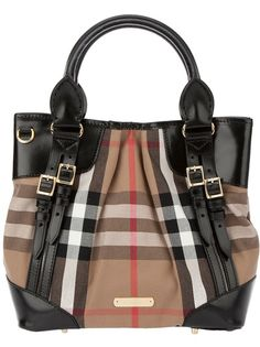 BURBERRY BRIT Check Tote