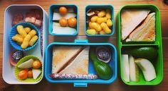#lunchbox #bento #monbento #homemade #energybites #homegrown #funnylooking #cucumbers #healthy #fun