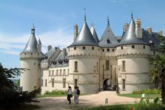 Chaumont Castle, Loire Valley, France. After the death of her husband, Catherine de Medici took Chenonceau from Diane of Poitiers and gave her Chaumont in return.