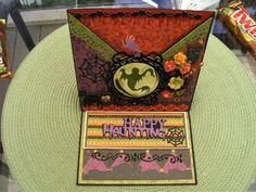 Criss-Cross Easel Halloween Card