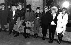 me n sam at Xclusive club Batley 1986