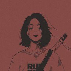 Art Manga, Anime Art Girl, Pretty Art, Cute Art, Aesthetic Art, Aesthetic Anime, Hipster Girl Drawing, Art Sketches, Art Drawings