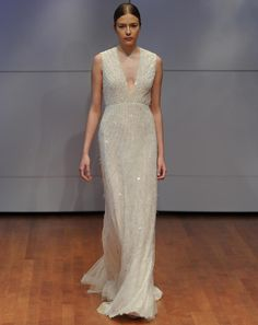 These Rivini and Alyne by Rita Vinieris Fall 2016 Wedding Dresses Have Us Counting Down to Winter | TheKnot.com