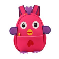 2015 Most Cute Cartoon Chick Backpack for School Children Cartoon Bag d3fdfcf286d15
