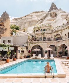 The Cave Hotels of Göreme..