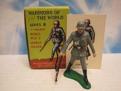 MARX WARRIORS OF THE WORLD BATTLEGROUND GERMAN LUDWIG SPEER 60mm TOY SOLDIER #MARX