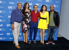 "Actors Behrouz Vossoughi, Monica Bellucci, Writer/Director/Producer Bahman Ghobadi, actors Bel?im Bilgin and Arash Labaf attend the ""Rhino Season"" photo call during the 2012 Toronto International Film Festival at TIFF Bell Lightbox on September 12, 2012 in Toronto, Canada."