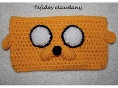 Tejidos Claudany: Cartucheras tejidas a crochet