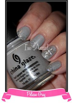 Winter Icicle Nail Art