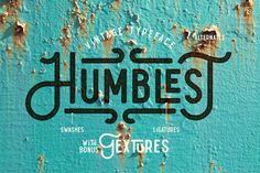 Humblest Font + Textures on Behance