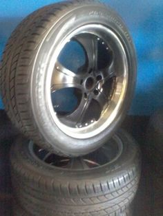 Porsche 5x130 mags and tyres combo  265-50-20 Porsche R12 000we also haveTitle: 14inch Storm JF288 4X100 4X114 Alloy WheelsCategory: Automotive Vehicles > Auto Parts