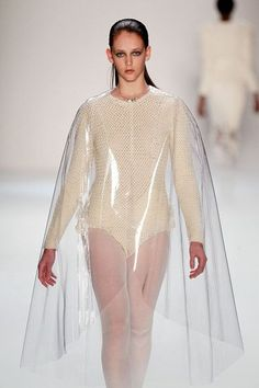 gold gradation clothing runway - Google Search