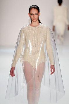 gold gradation clothing runway - Google Search