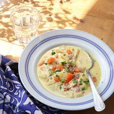 WW ViktVäktarnas 7 tips att komma i form Swedish Recipes, New Recipes, Healthy Recipes, Anti Inflammatory Recipes, Comfort Food, Cheeseburger Chowder, Lchf, Bacon, Curry