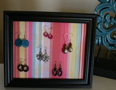 another fun way to display earrings