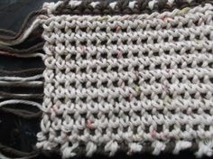 Thermal crochet stitch