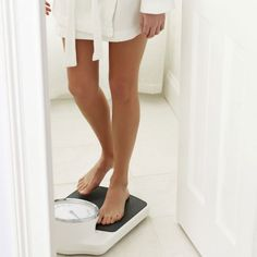 Scale Back Weigh Yourself Once a Week - Health and Fitness Tips for Women - Shape Magazine Best Weight Loss Plan, Fast Weight Loss Tips, Weight Loss Shakes, Yoga For Weight Loss, Weight Loss Challenge, Diet Plans To Lose Weight, Healthy Weight Loss, How To Lose Weight Fast, Fitness Facts