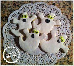 Baunilha Cor-de-Rosa: #cookies #ghosts #halloween